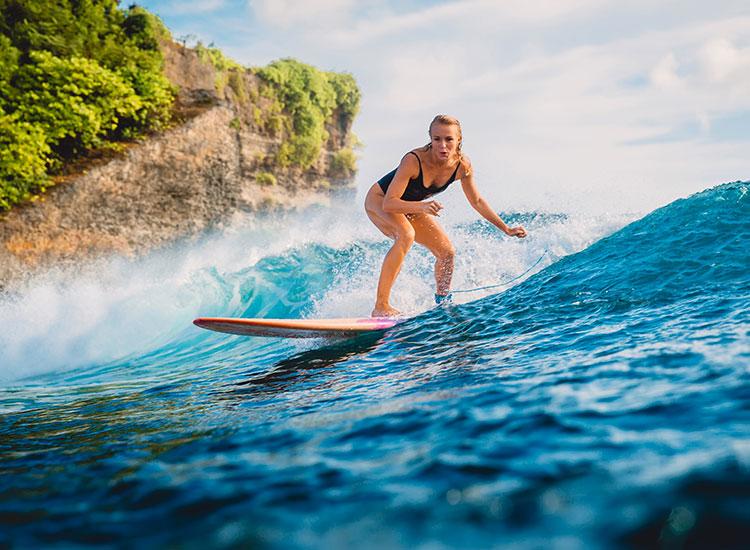 Sporturi nautice in Bali