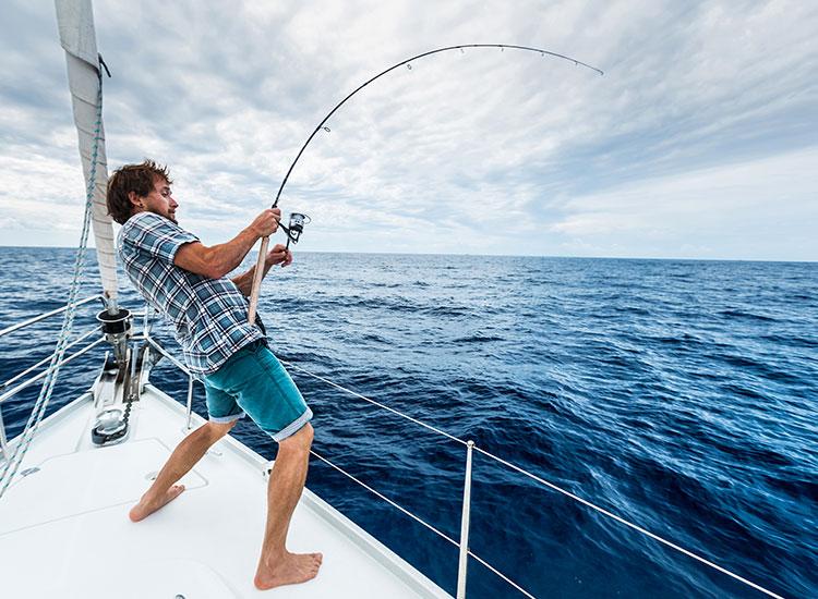 Pescuit in Mauritius