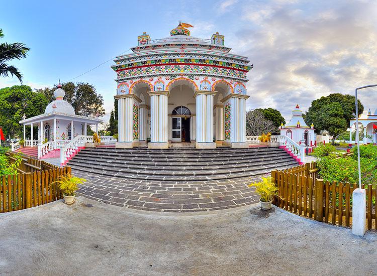 Templu hindus din Triolet Mauritius