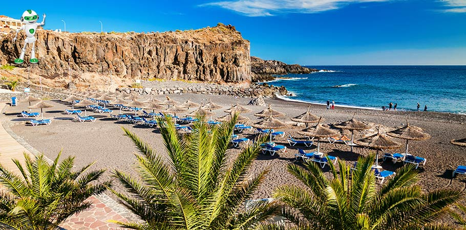Vedere din Callao Salvaje Tenerife