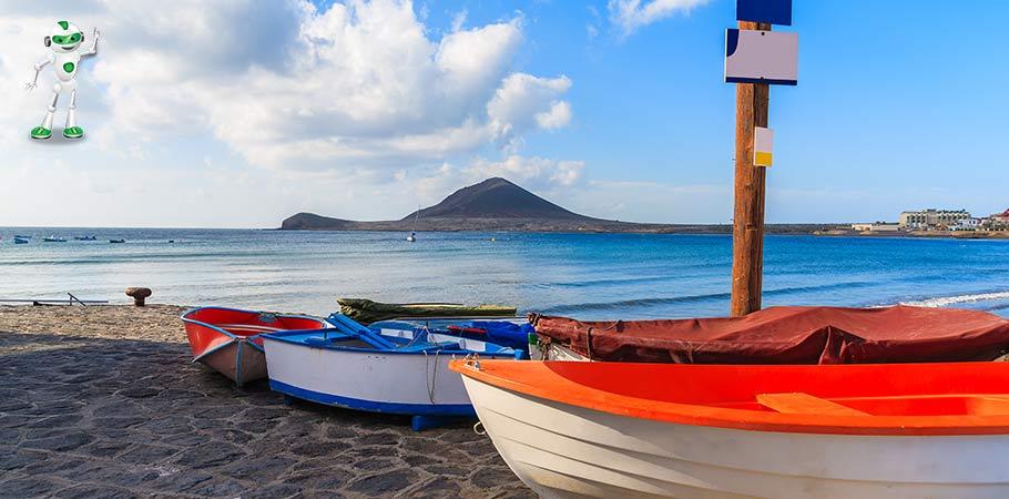Vedere din El Medano Tenerife