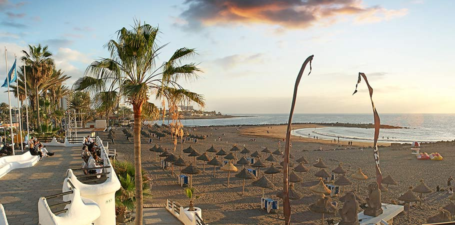 Plaja Playa de Las Americas Tenerife