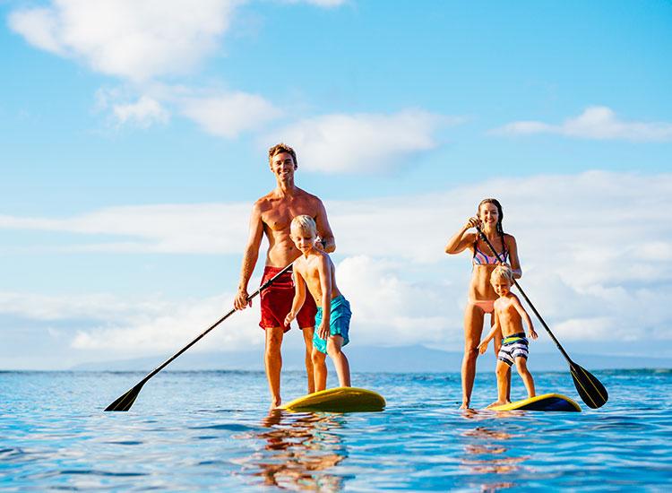Paddleboard-ing Azore