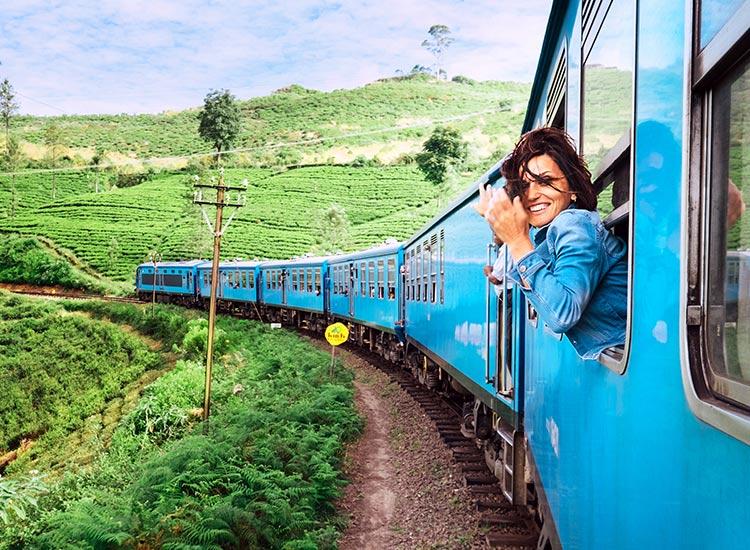 Plimbare cu trenul