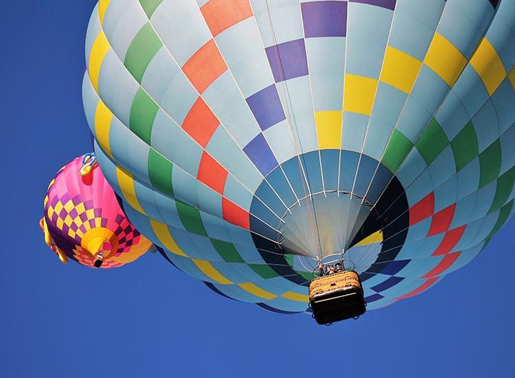 Cu balonul de aer