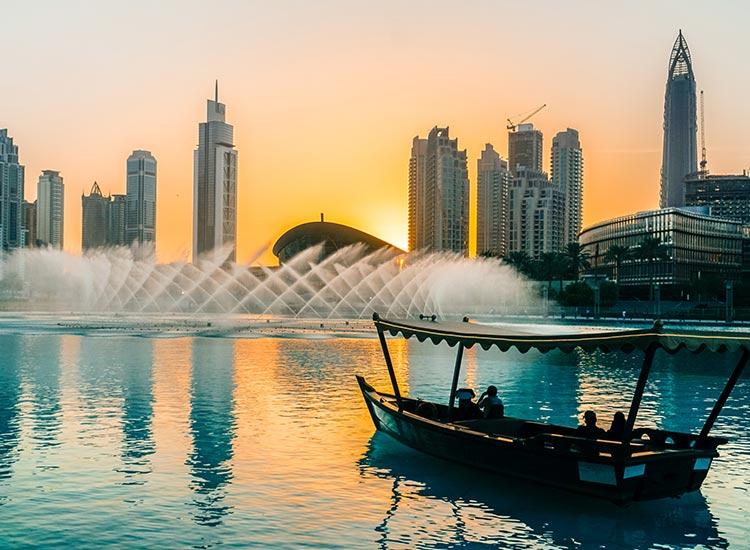 Dhow in Dubai