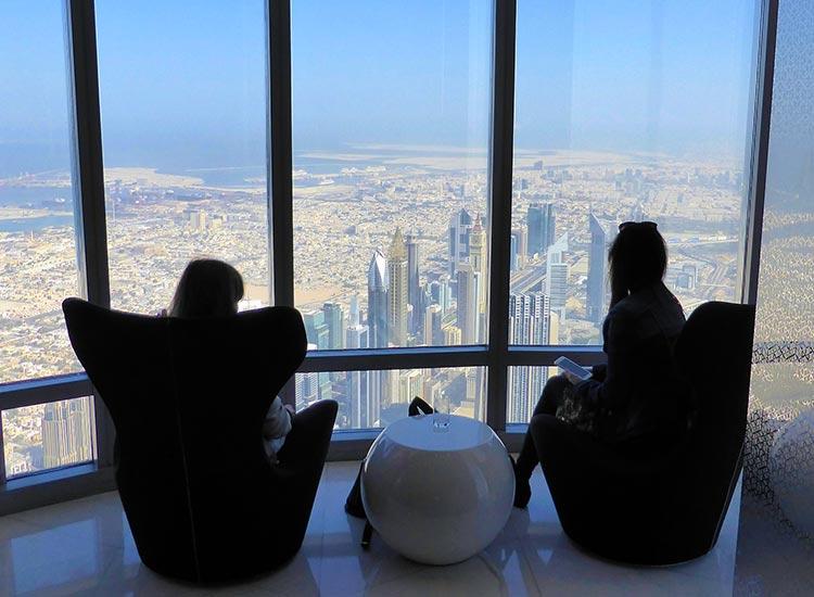 Vizita la Burj Khalifa